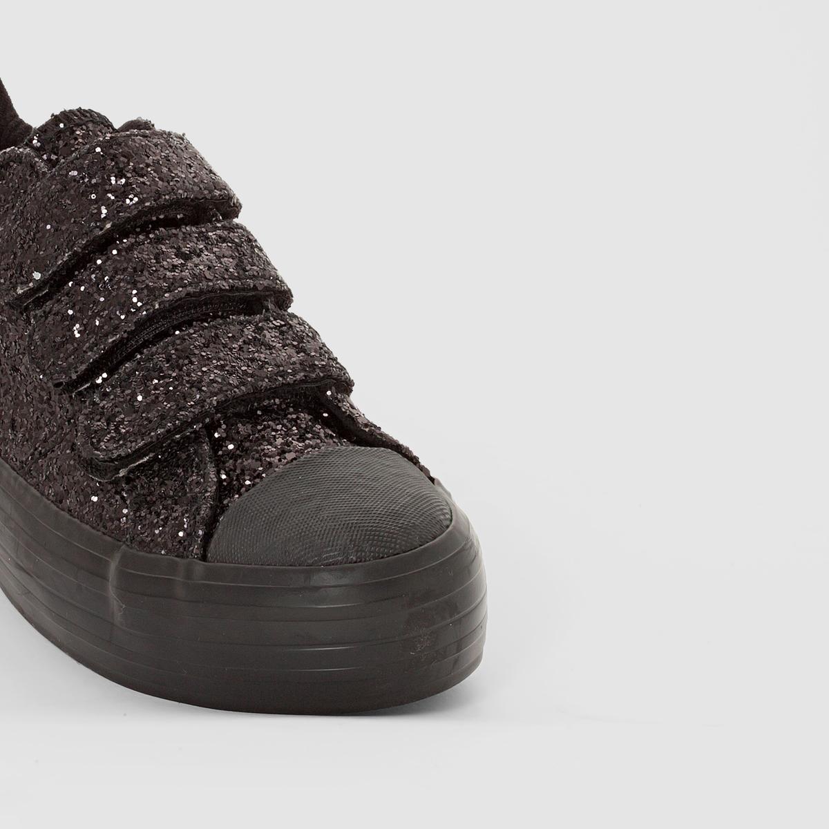 Кеды низкие TENDAIМатериал внешний/внутрений : Текстиль          Подкладка : Микрофибра       Стелька : Микрофибра                Подошва : Каучук.            Форма каблука : Плоская    Мысок : Закругленный   Застежка : На планку-велкро<br><br>Цвет: черный<br>Размер: 37