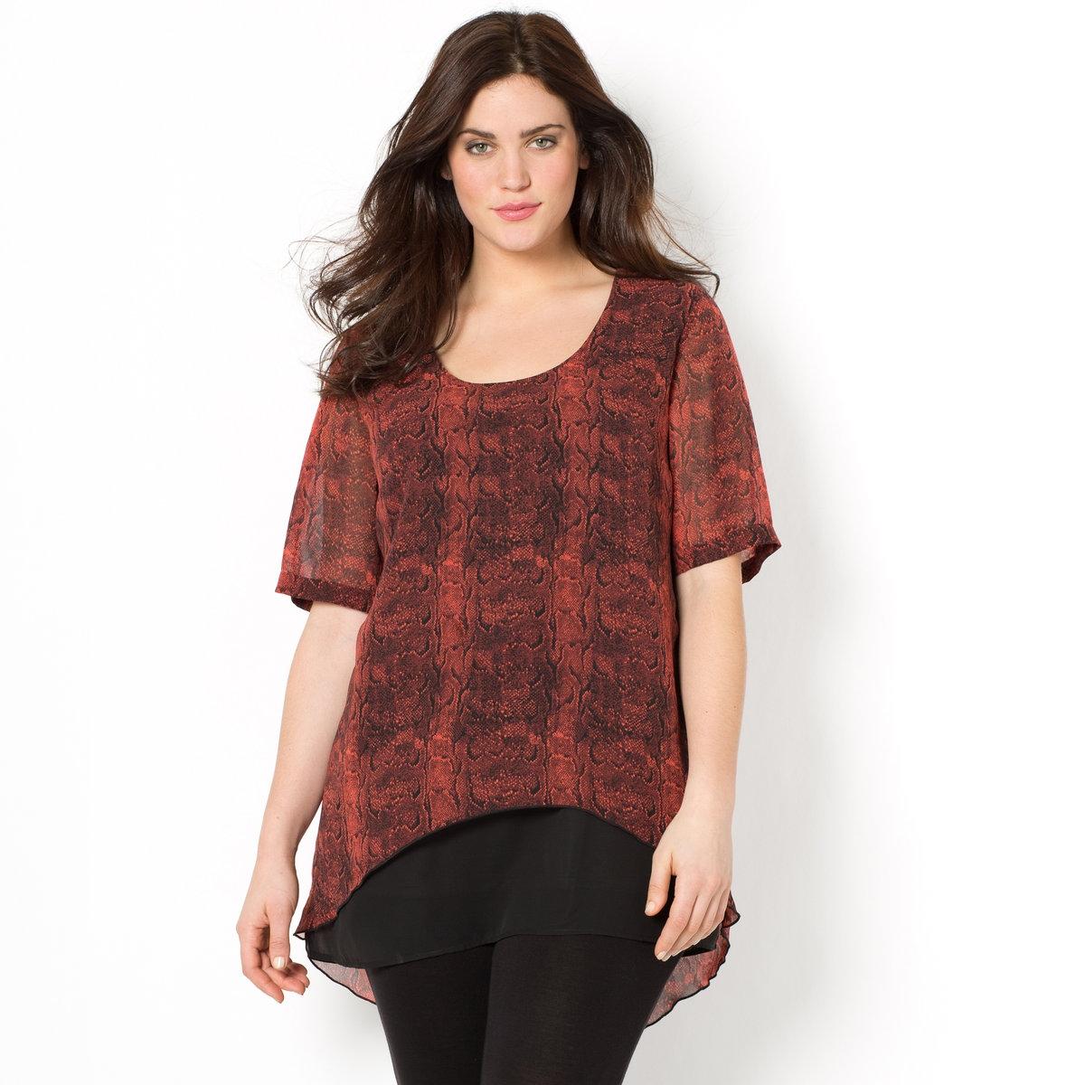 Блузка из вуали от La Redoute