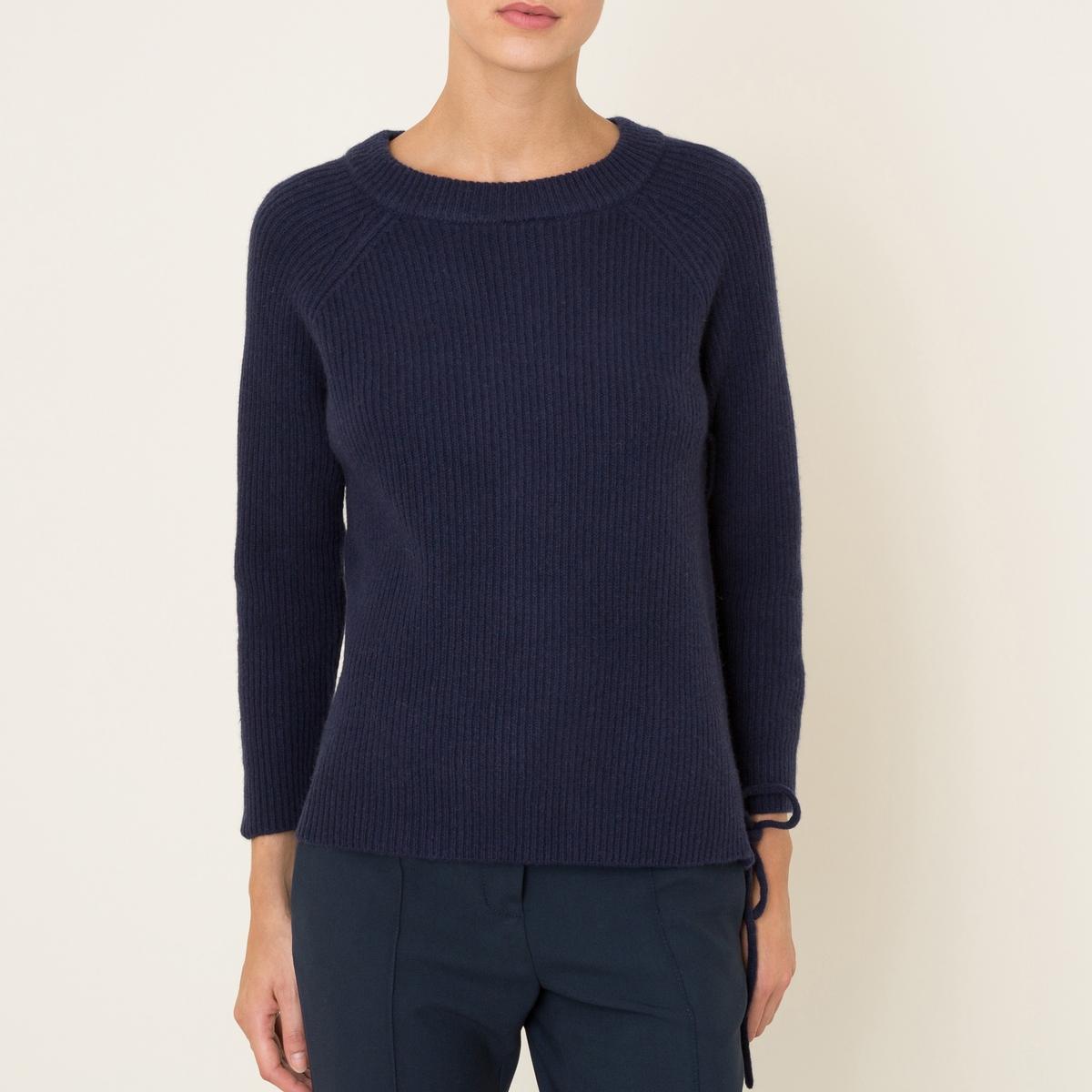Пуловер MINUSСостав и описание    Материал : 95% шерсти, 5% кашемира   Металлические люверсы с покрытием медью   Марка : BA&amp;SH<br><br>Цвет: темно-синий