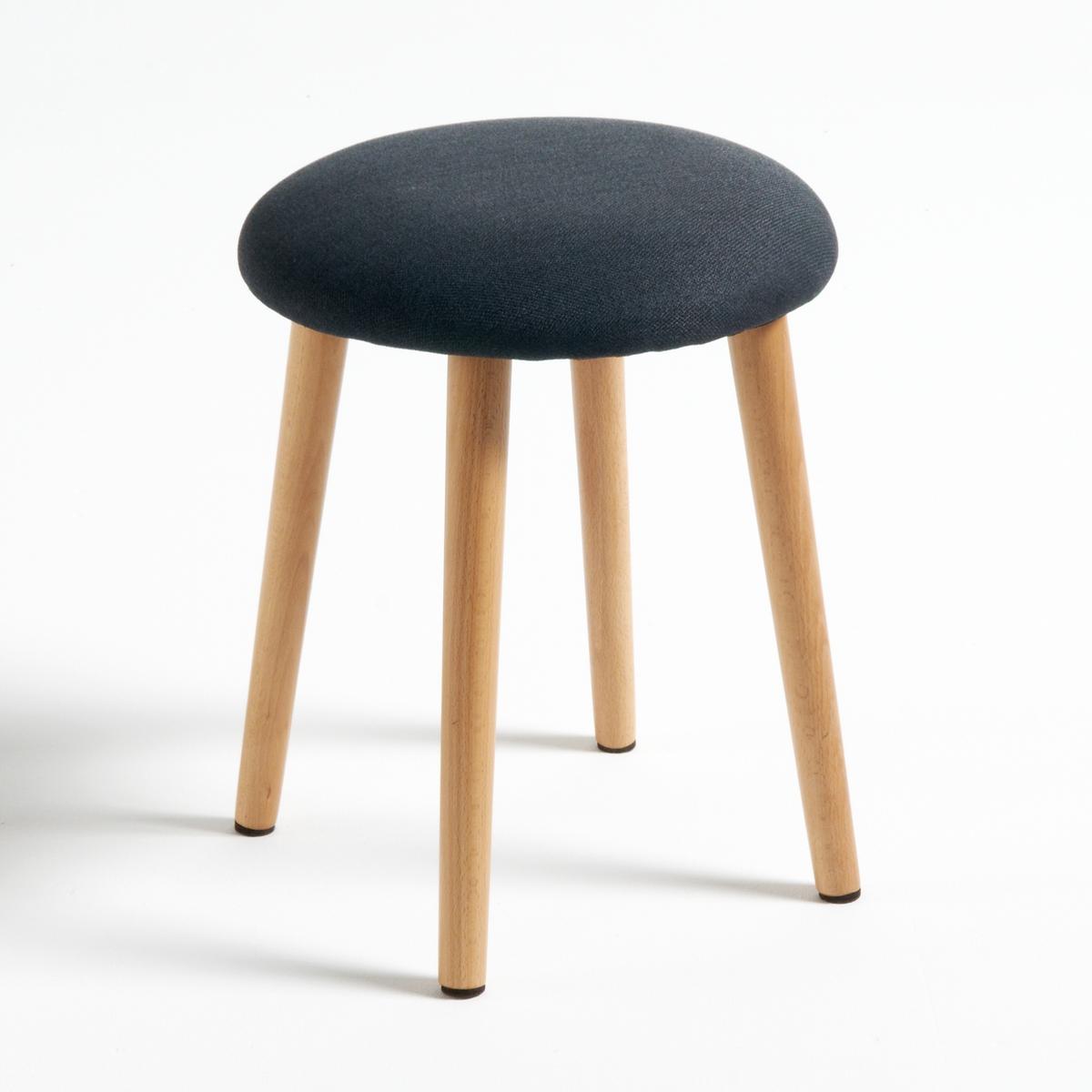 Табурет La Redoute Мягкий Jimi единый размер черный стол la redoute письменный из массива сосны на треноге jimi единый размер белый