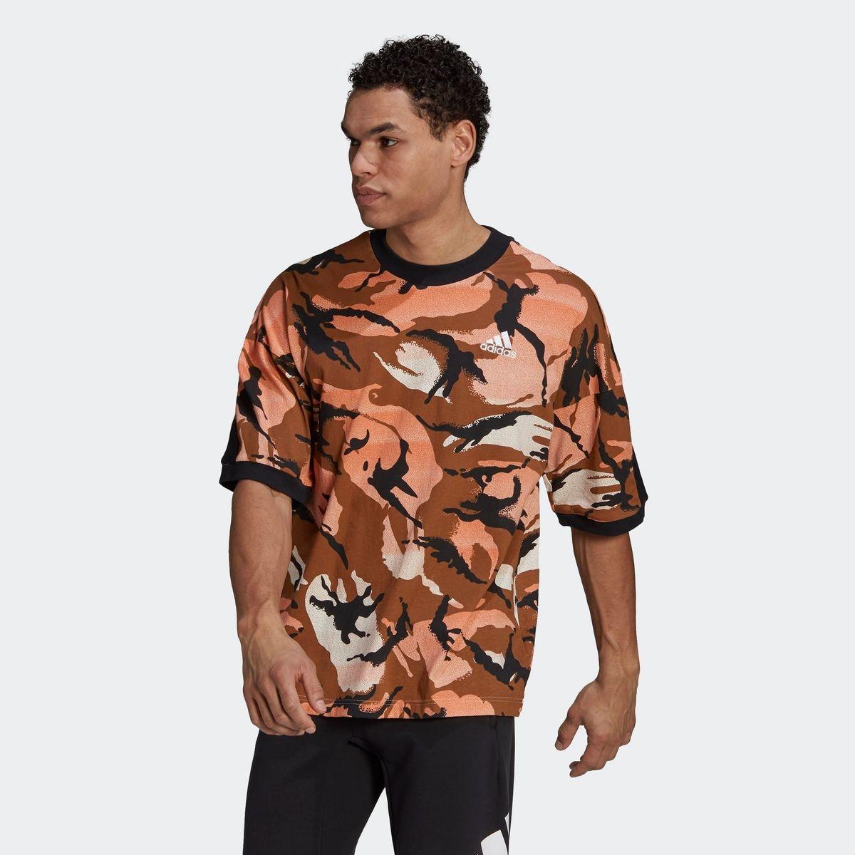 T-shirt adidas Sportswear Desert Camouflage Allover Print