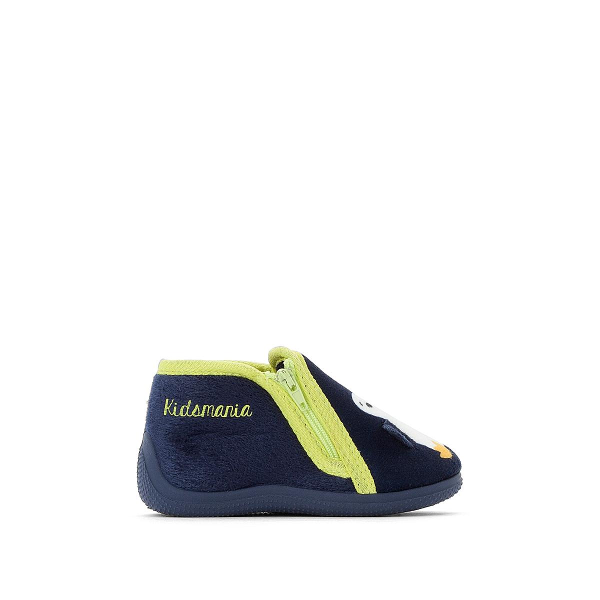Туфли детские с застежкой на молнию