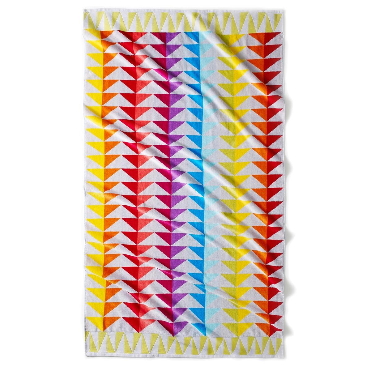Полотенце пляжное Block, 420 г/м?Характеристики пляжного полотенца Block, 420 г/м? :Жаккардовый махровый материал высокого качества, 100% хлопка : 1 сторона из велюра, 1 сторона из махровой ткани.Мягкое и прочное полотенце, невероятная стойкость цвета.100 хлопка 420 г/м?.Машинная стирка при 40°.Размер пляжного полотенца 420 г/м? :100 x 180 см.<br><br>Цвет: бежевый/розовый/оранжевый