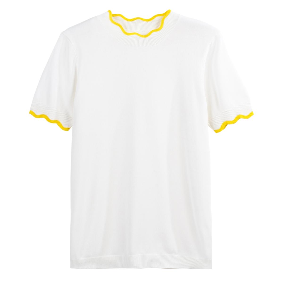 Jersey de manga corta bicolor