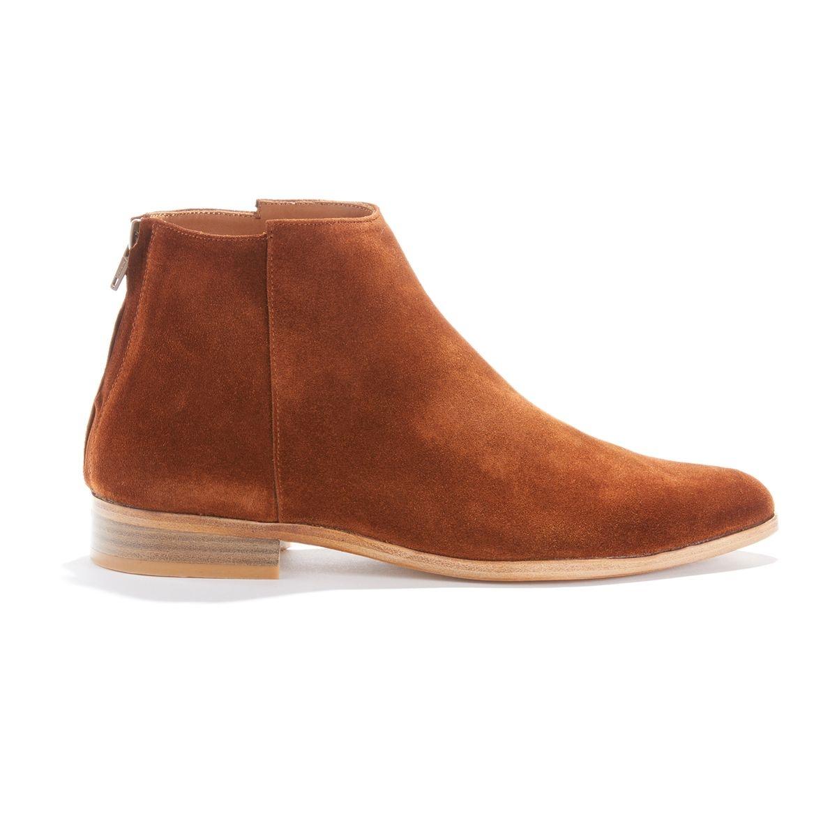 Boots cuir vachette TERRANCE DAIM