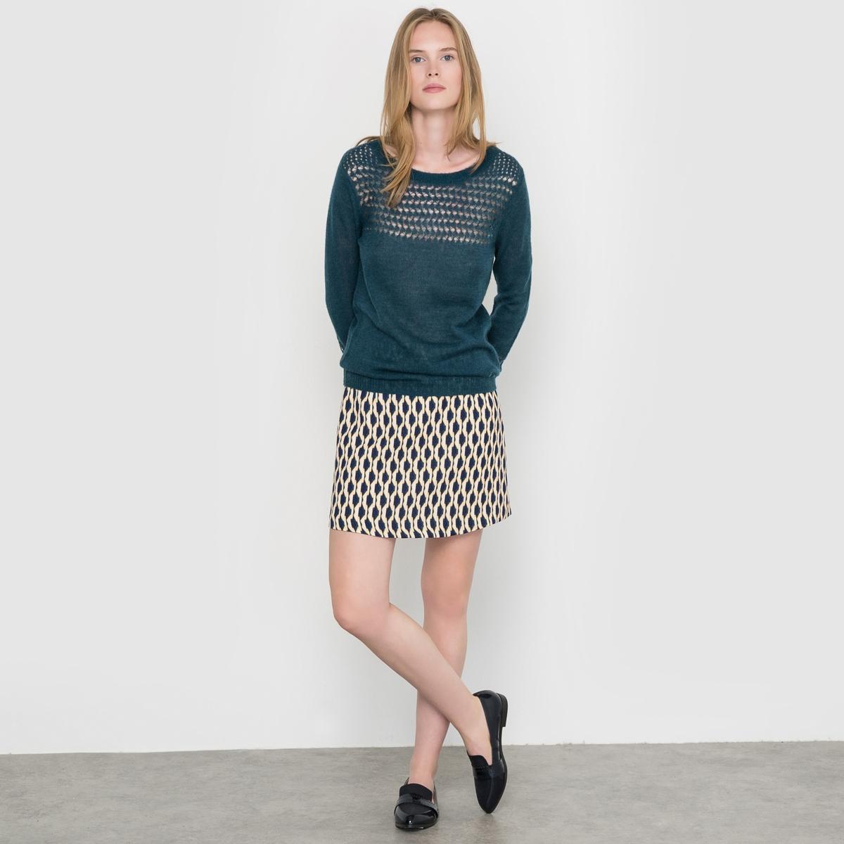 Юбка короткая с рисунком Flore юбка