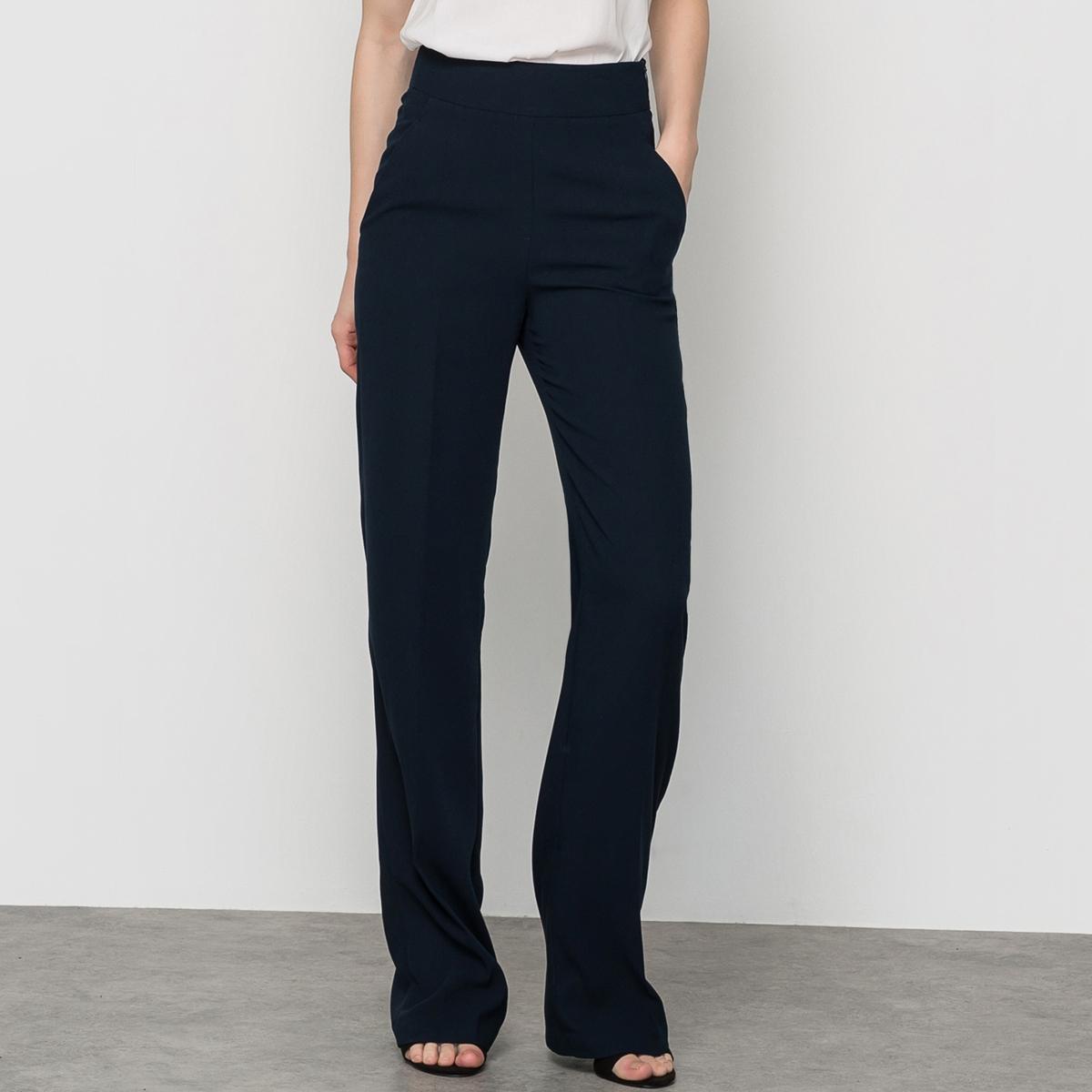 штаны с завышенной талией выкройка