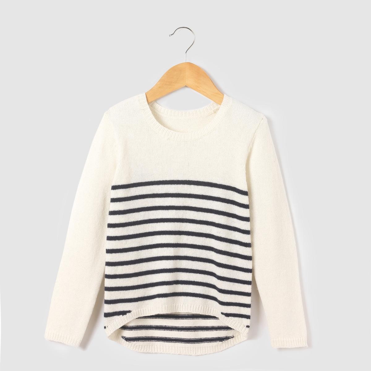 Пуловер теплый,  3-12 лет