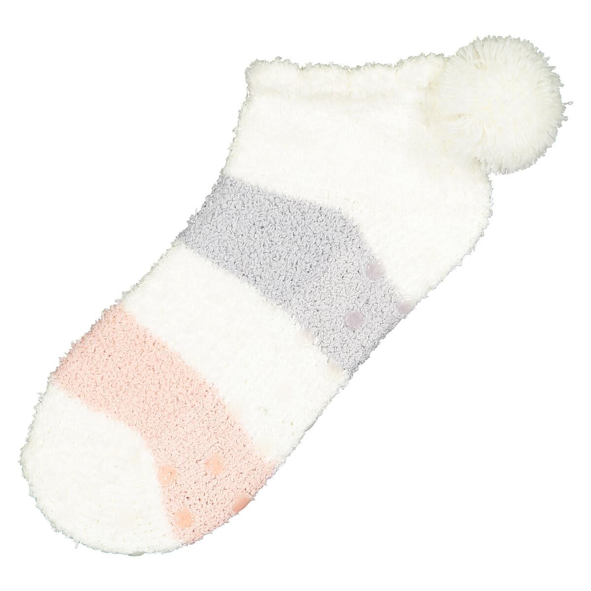 Calcetines cortos a rayas fantasía