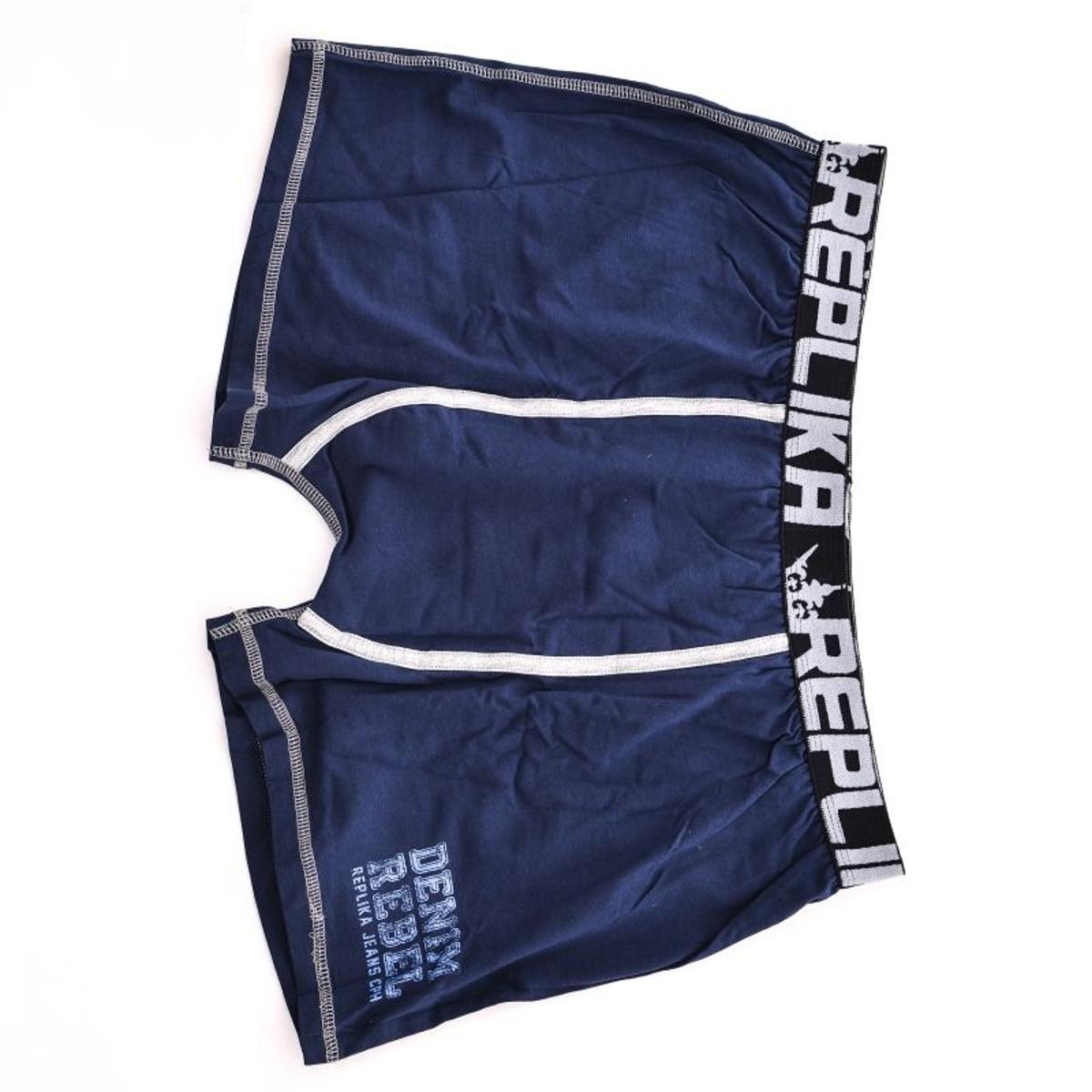 Boxer replika bleu marine