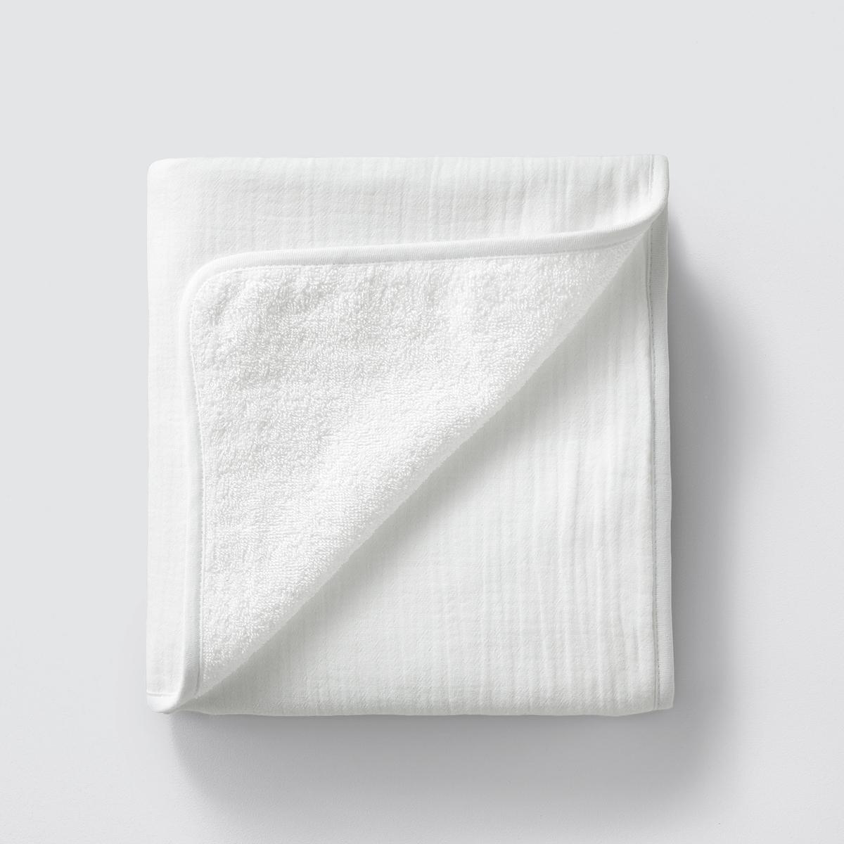 Хлопковое La Redoute Полотенце для рук Kumla 50 x 90 см белый полотенце proffi home классик цвет шоколадный 50 x 100 см