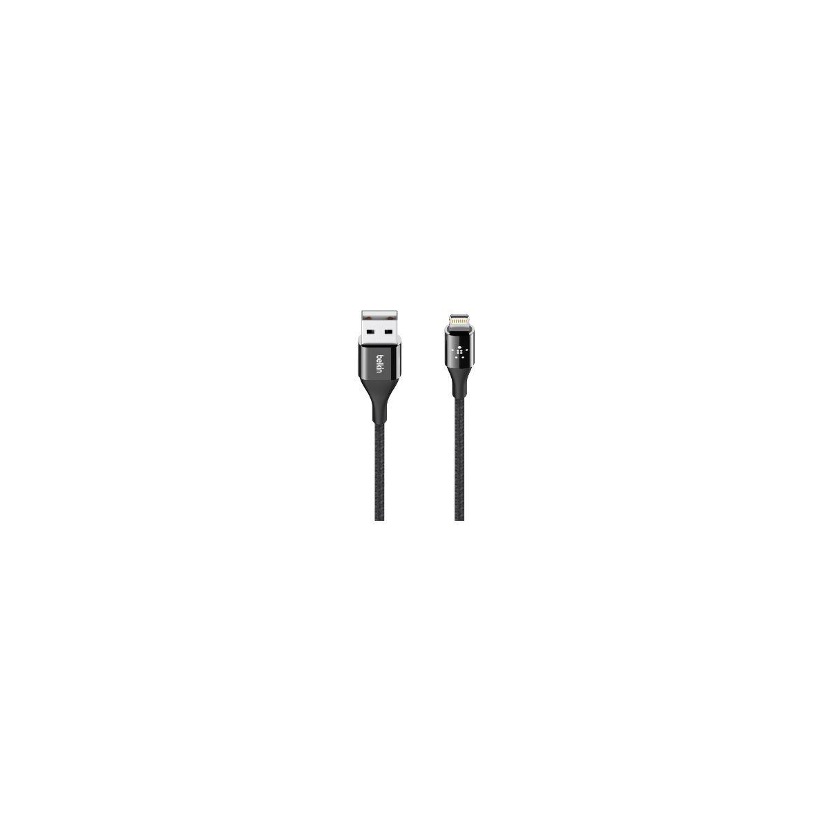 Câble iPhone BELKIN Kevlar 1M20 Noir