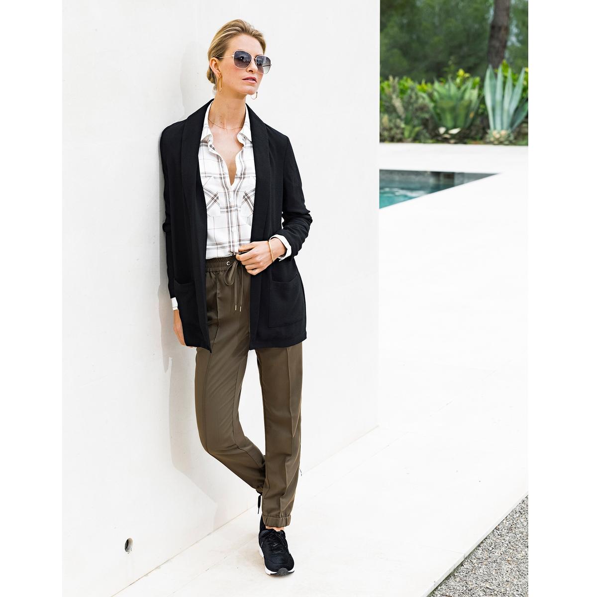 Imagen adicional 3 de producto de Pantalón recto con cintura elástica detrás - Anne weyburn