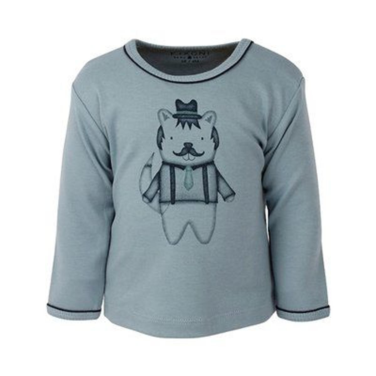 Fixoni T-shirt à manches longues renard top bébé vêtements...