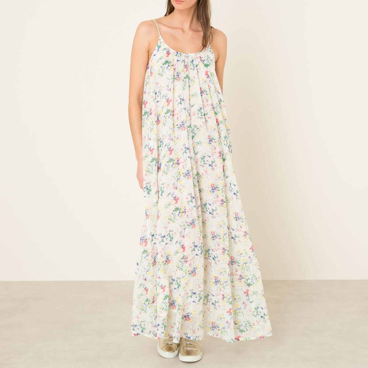 Платье ASHLEYСостав и описание:    Материал : 100% хлопок   Марка : MES DEMOISELLES<br><br>Цвет: цветочный рисунок