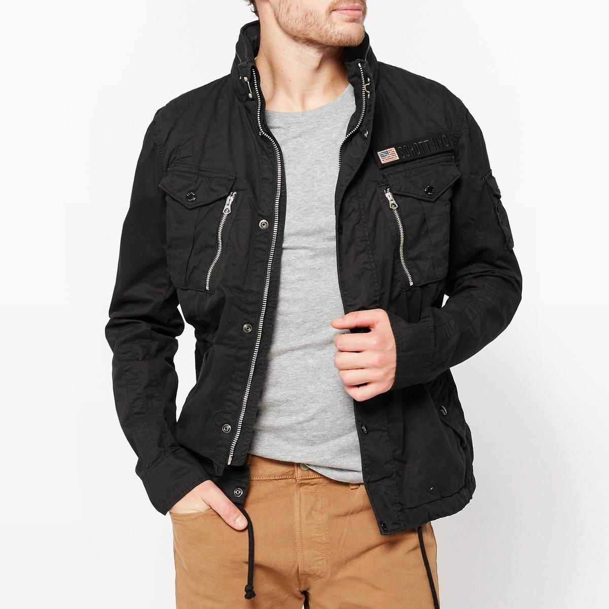 Куртка в стиле милитари Squad мужское пальто в стиле милитари