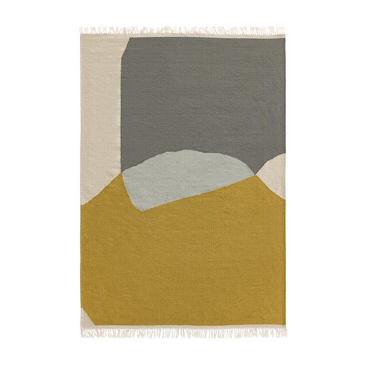 Ковер La Redoute Из шерсти и хлопка Ankara 120 x 170 см разноцветный