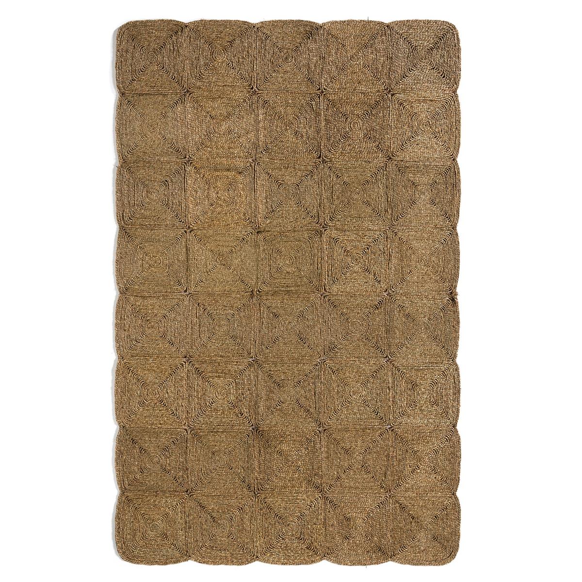 Ковер из водного гиацинта, HyacinКовер Hyacin. Ковер добавит натуральные, современные и экзотические штрихи в ваш декор. Естественный термо и звукоизолятор, ковер соединяет пространство, согревает комнату, создает ощущение благополучия и комфорта. Это элемент декора, который придает стиль и атмосферу. Характеристики :- Из плетеного водного гиацинта- Ручное плетение- СкладнойРазмеры : - 120 x 180 см- 150 x 270 см- 210 x 300 см<br><br>Цвет: серо-бежевый<br>Размер: 120 x 180  см