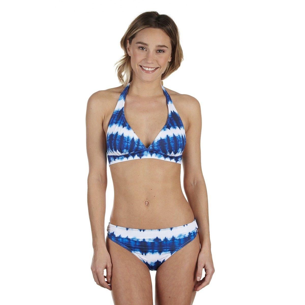 d541908e17 Haut de maillot de bain Triangle foulard mousses amovibles Hoang.  BLUELOBSTER