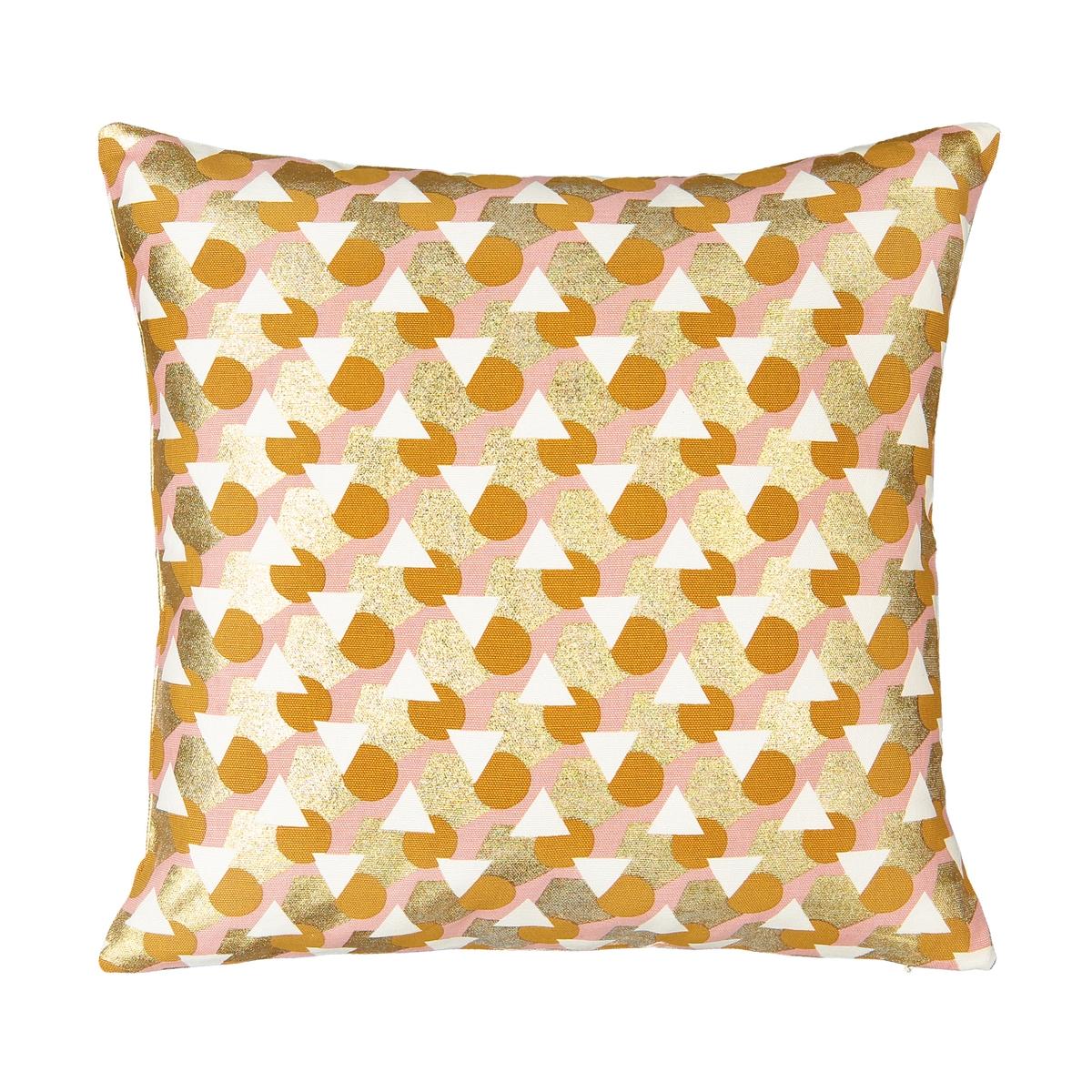 Чехол La Redoute На подушку Joplin 40 x 40 см желтый чехол навололчка la redoute aeri 40 x 40 см бежевый