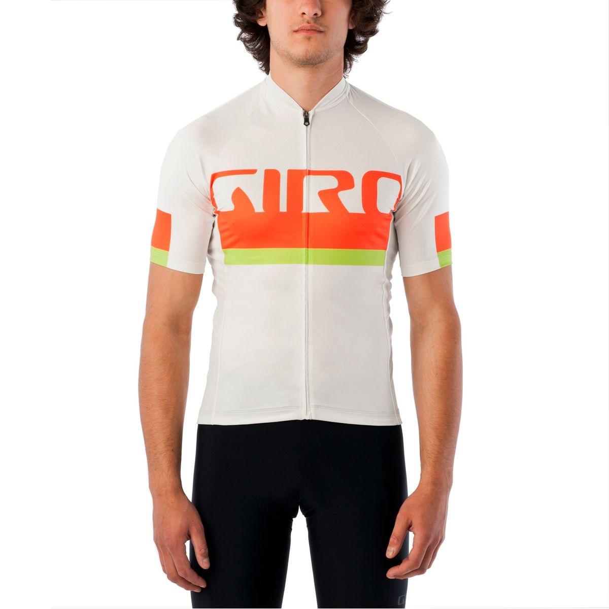 Chrono Expert - Maillot manches courtes Homme - orange/blanc