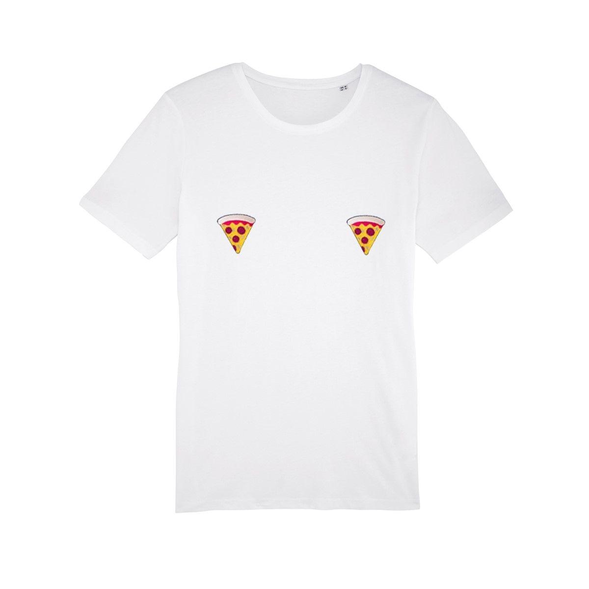 T-shirt femme en coton bio Pizza