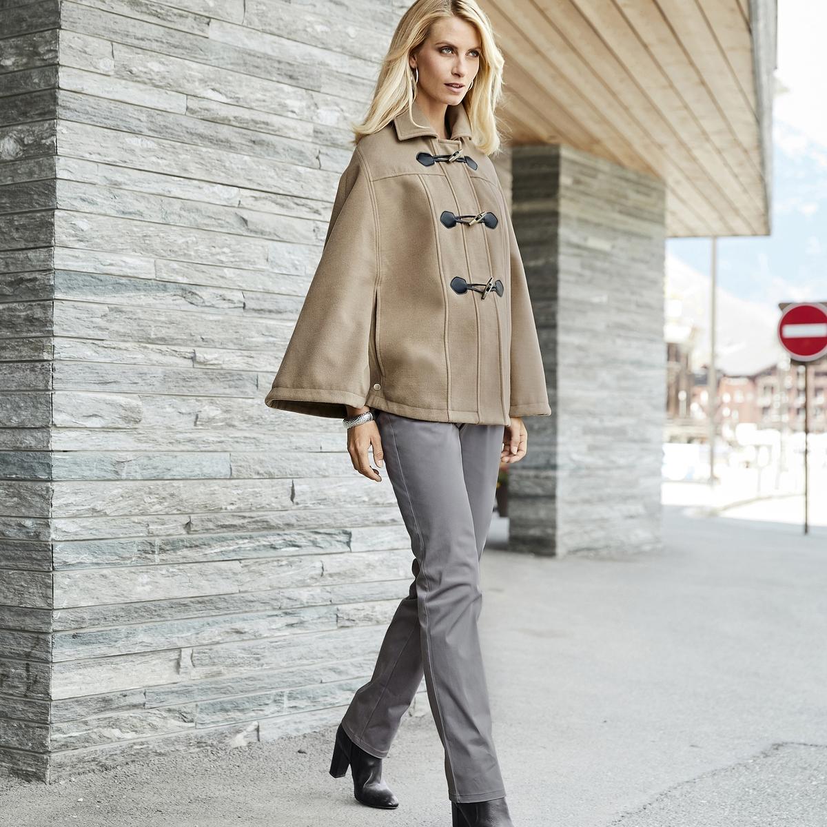 Imagen principal de producto de Abrigo capa, cierre con cremallera - Anne weyburn