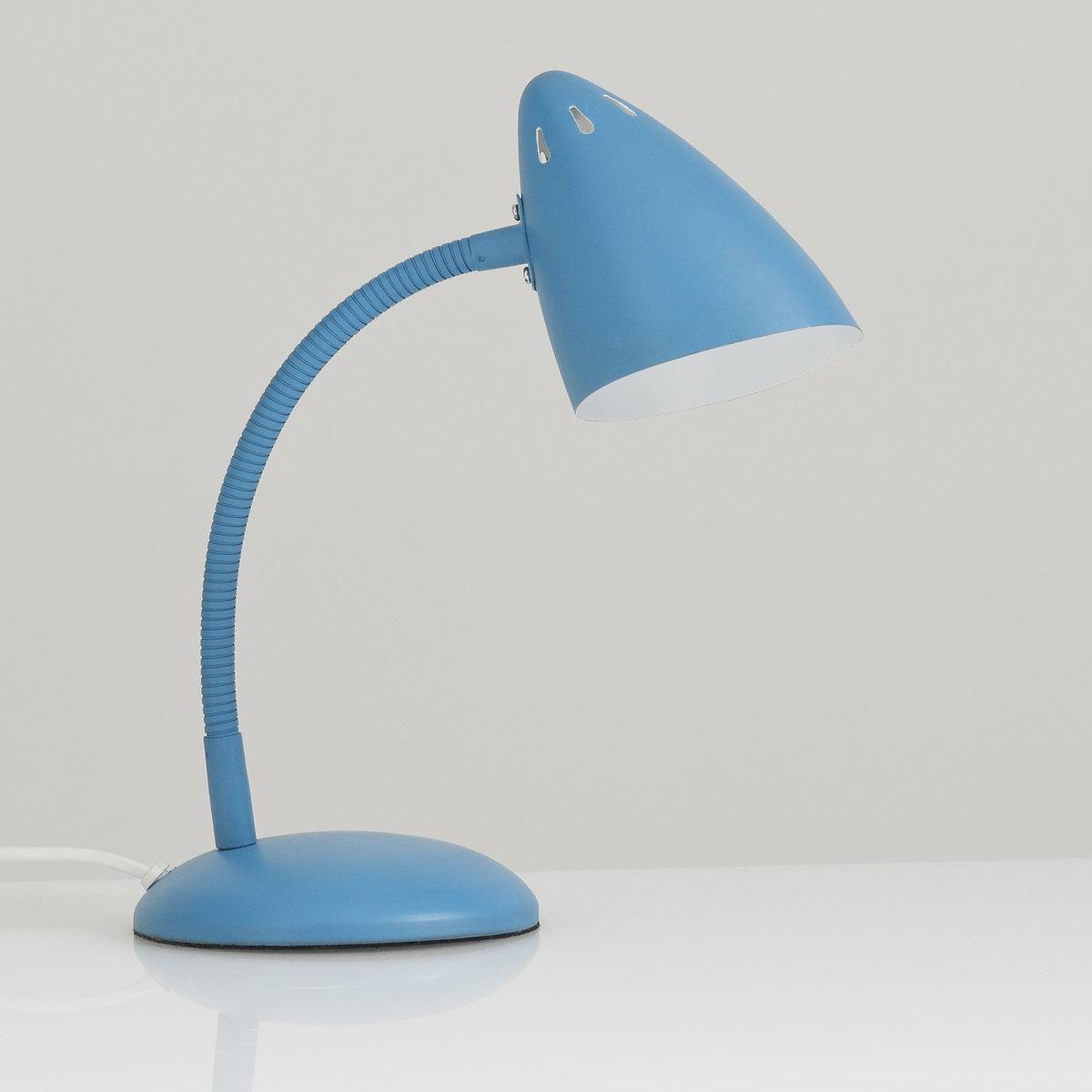 Lampada da tavolo in metallo stile vintage, Rosella