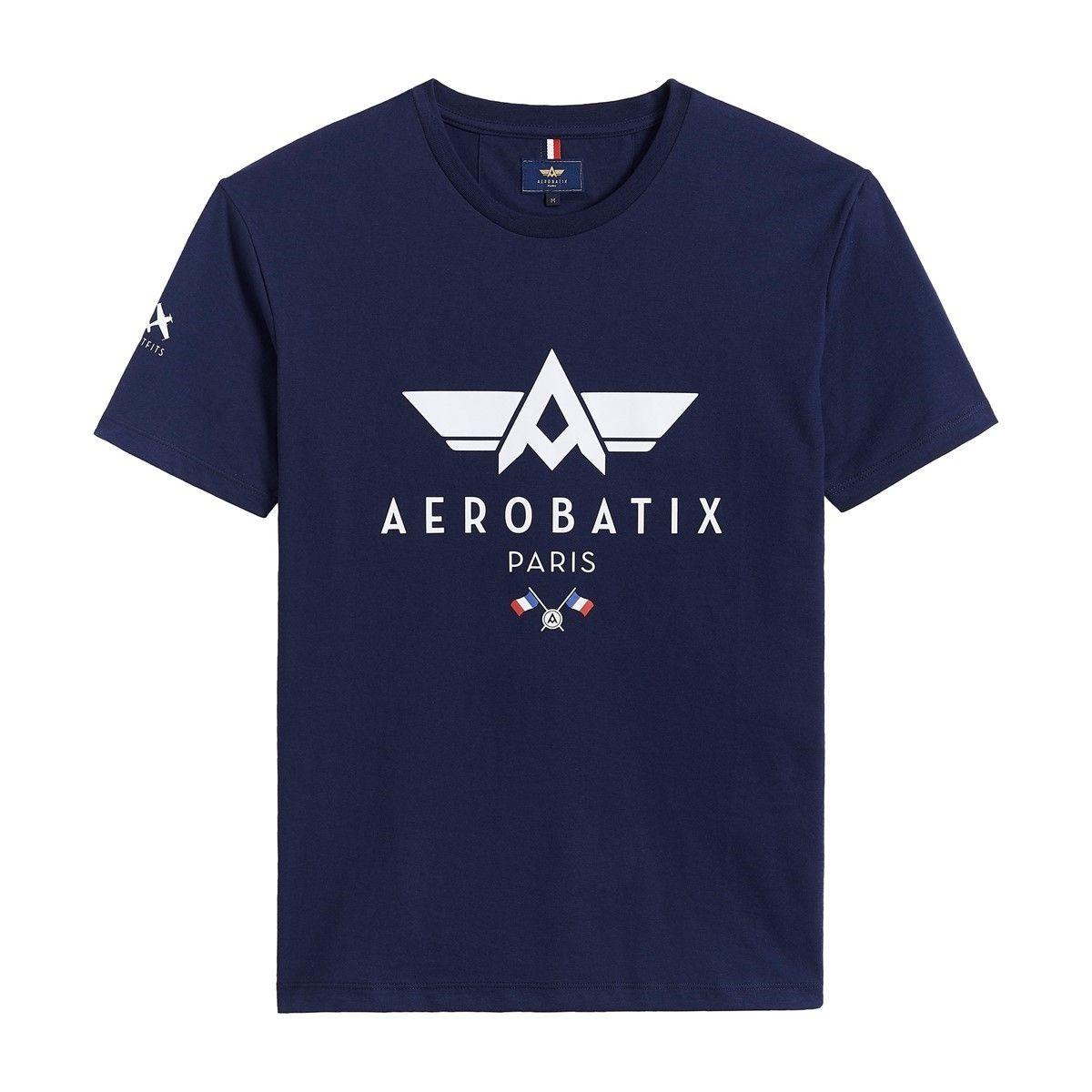 T-Shirt aviateur Aerobatix FOX JULIET