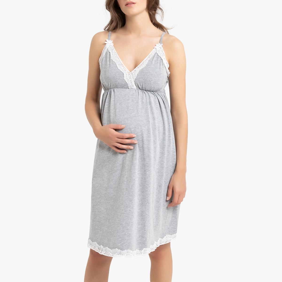 Camisón corto de embarazo y lactancia