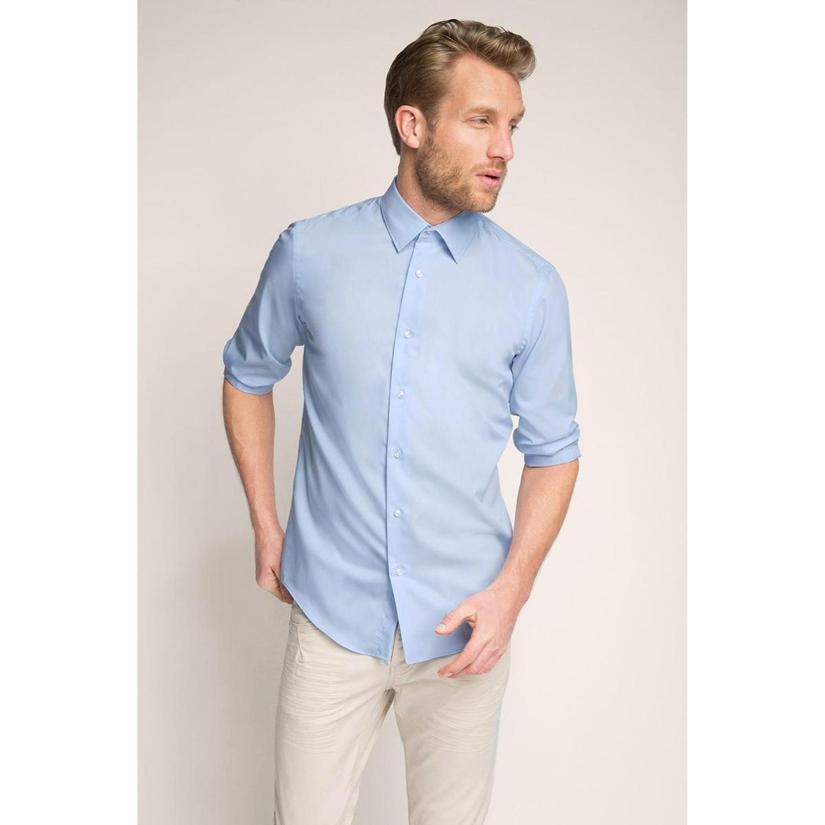 Рубашка, 100% хлопка.Рубашка  с длинными рукавами, ESPRIT. Прямой покрой, классический воротник. Манжеты на пуговицах.  Состав и описание:Материал: 100% хлопка.Марка: ESPRIT.<br><br>Цвет: небесно-голубой
