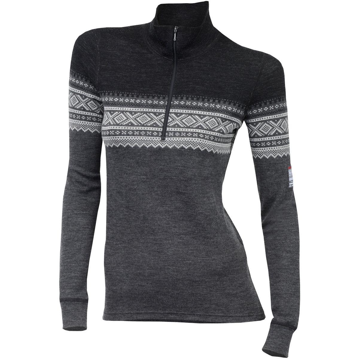 DesignWool Marius - Sous-vêtement Femme - gris