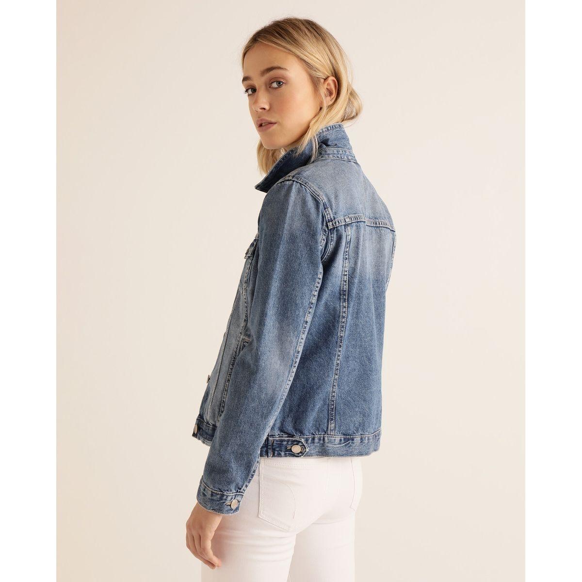 Veste en jean basique