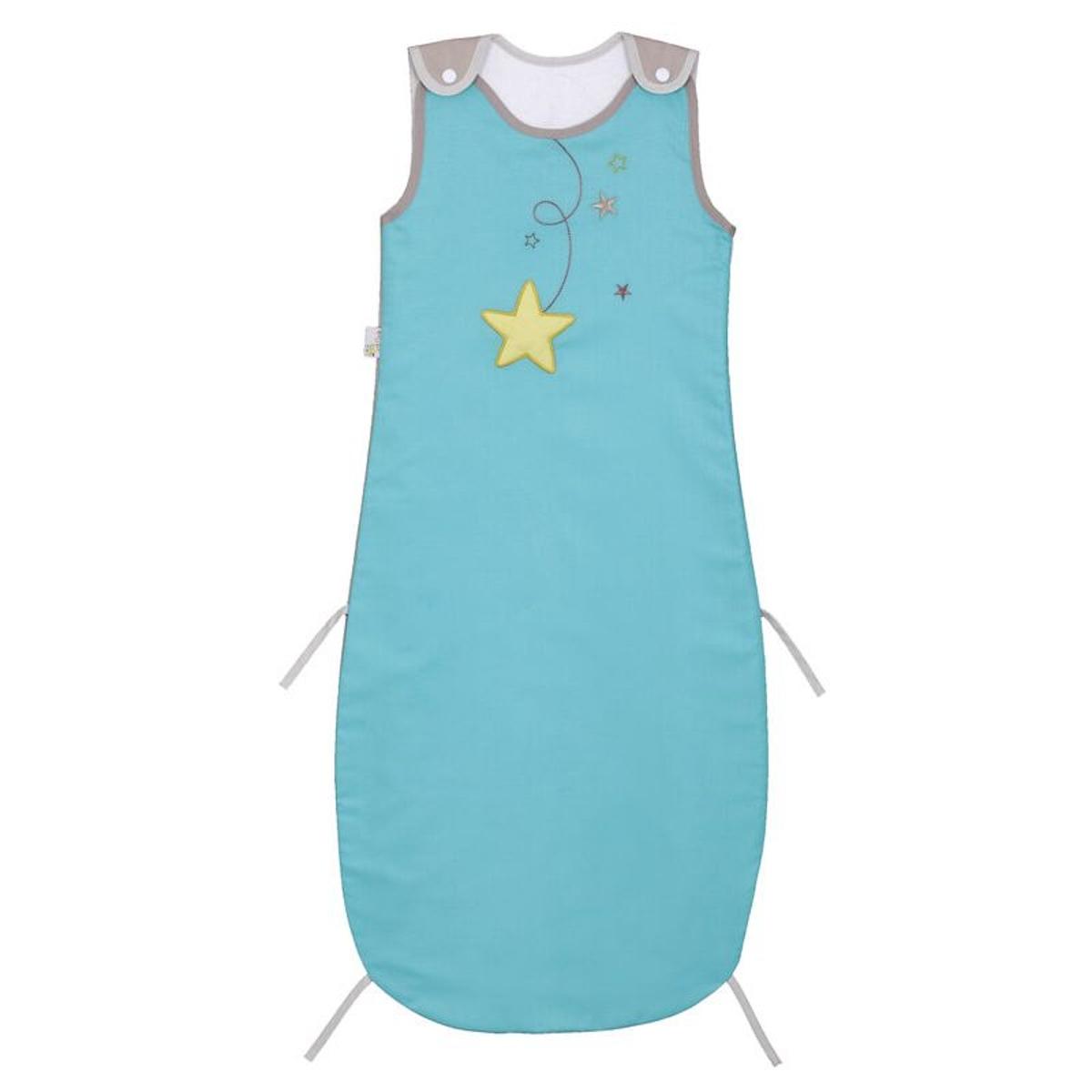 P'tit Basile  Gigoteuse été Pluie d'étoiles  6-36M  Turquoise