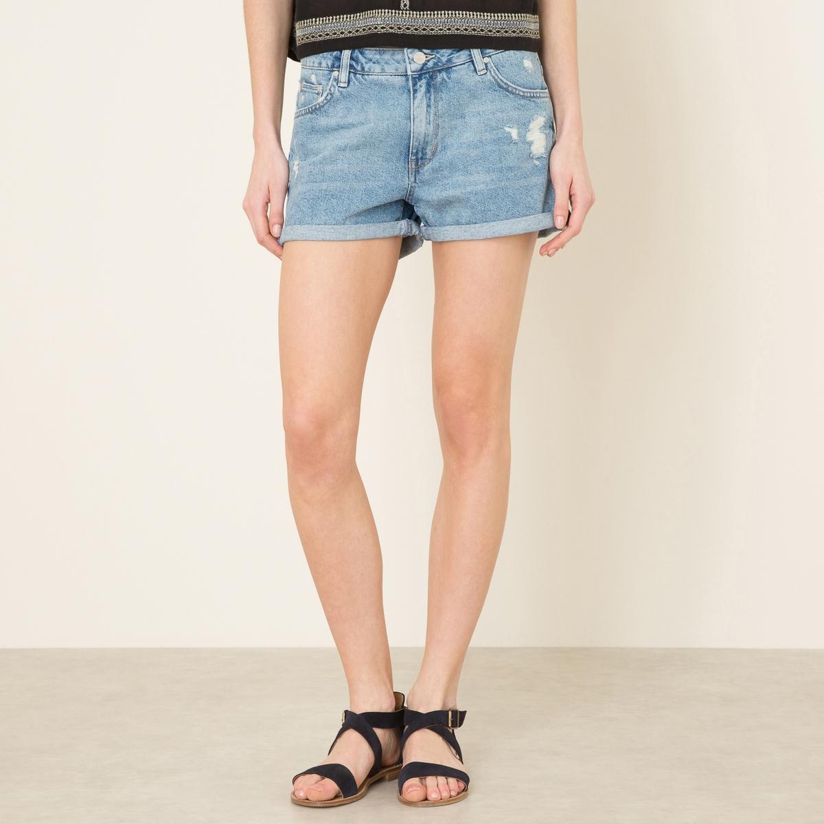 Шорты джинсовые SHELDONСостав и описание Материал : 100% хлопокМарка : REIKO<br><br>Цвет: синий деним