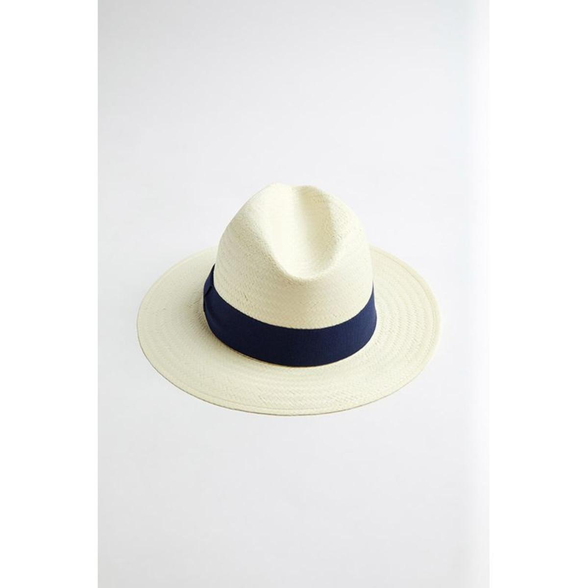 Chapeau de plage Panama Marine
