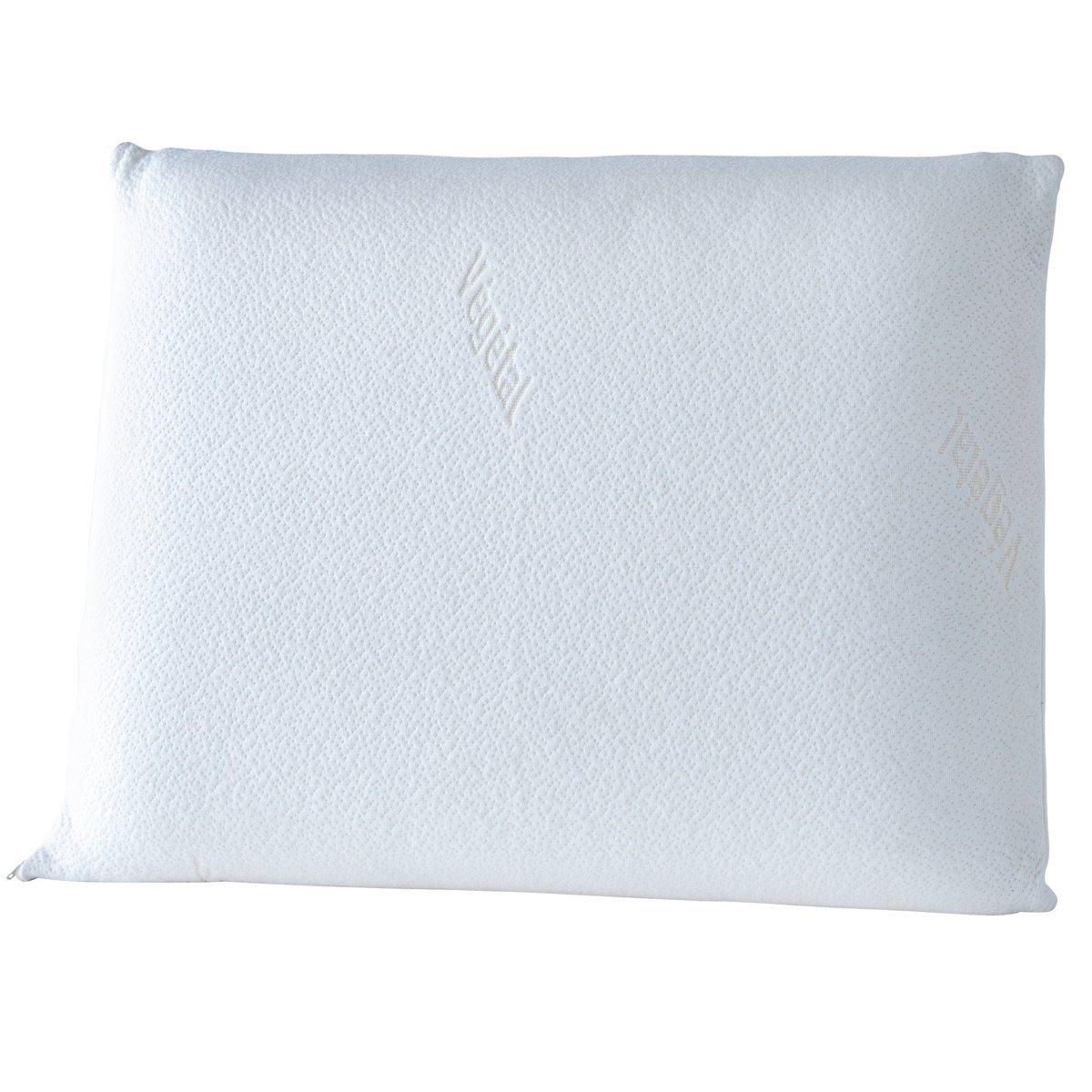 Подушка безворсовая с памятью формы