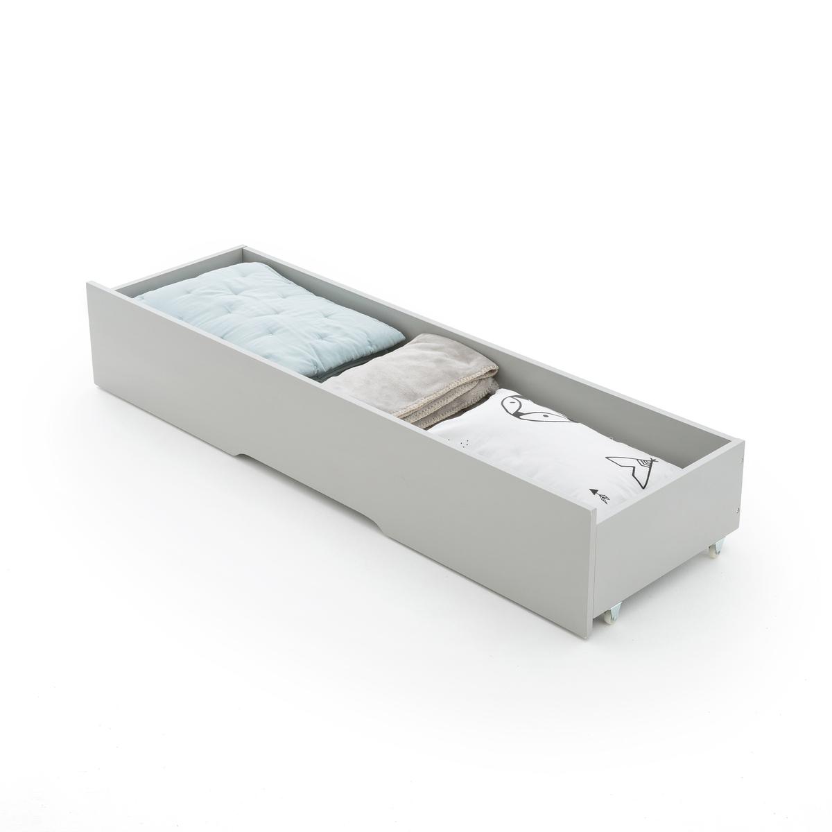 Ящик LaRedoute Для хранения для раздвижной кровати NUTTO единый размер серый