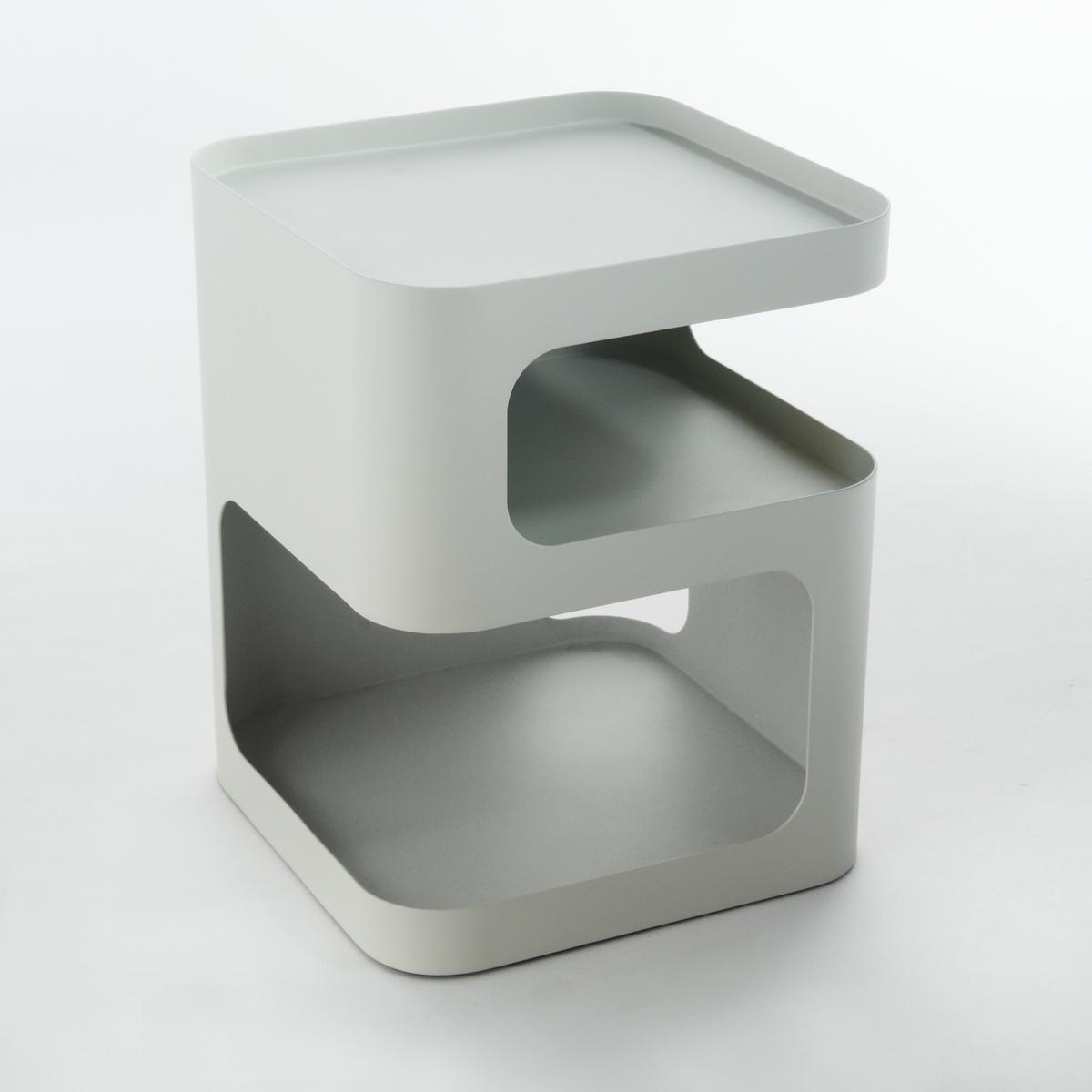 Прикроватная тумба из металла, SandovalХарактеристики: : - Металл с серой матовой покраскойРазмеры: - 40 x 50 x 40 см .Размеры и вес упаковки : - Ш47 x В59 x Г47 см, 23,69 кг<br><br>Цвет: серый,черный
