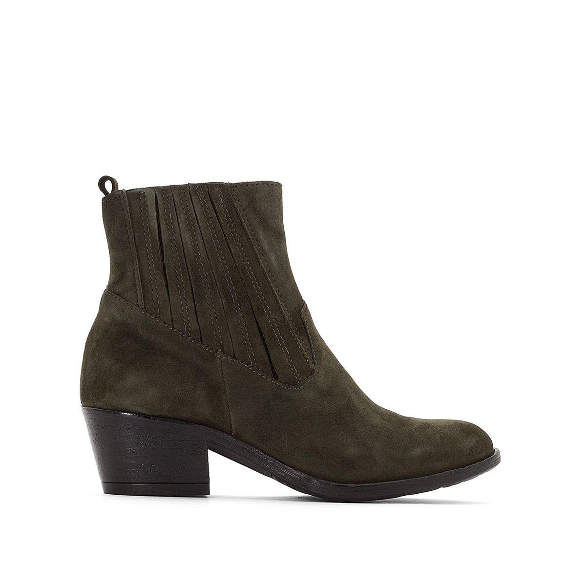 Boots cuir suède Dallas