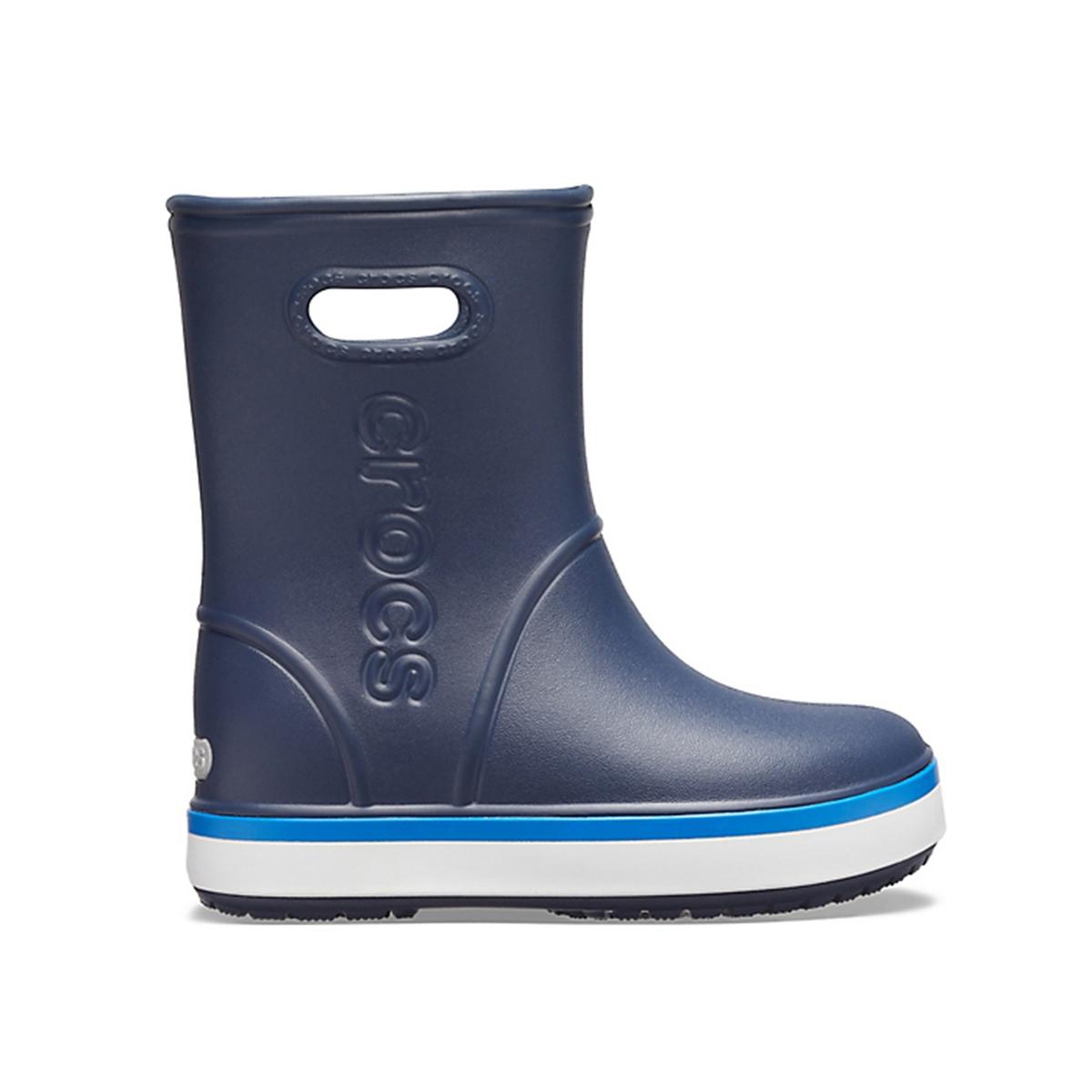 цена Сапоги La Redoute Crocband Rain 27/28 синий онлайн в 2017 году