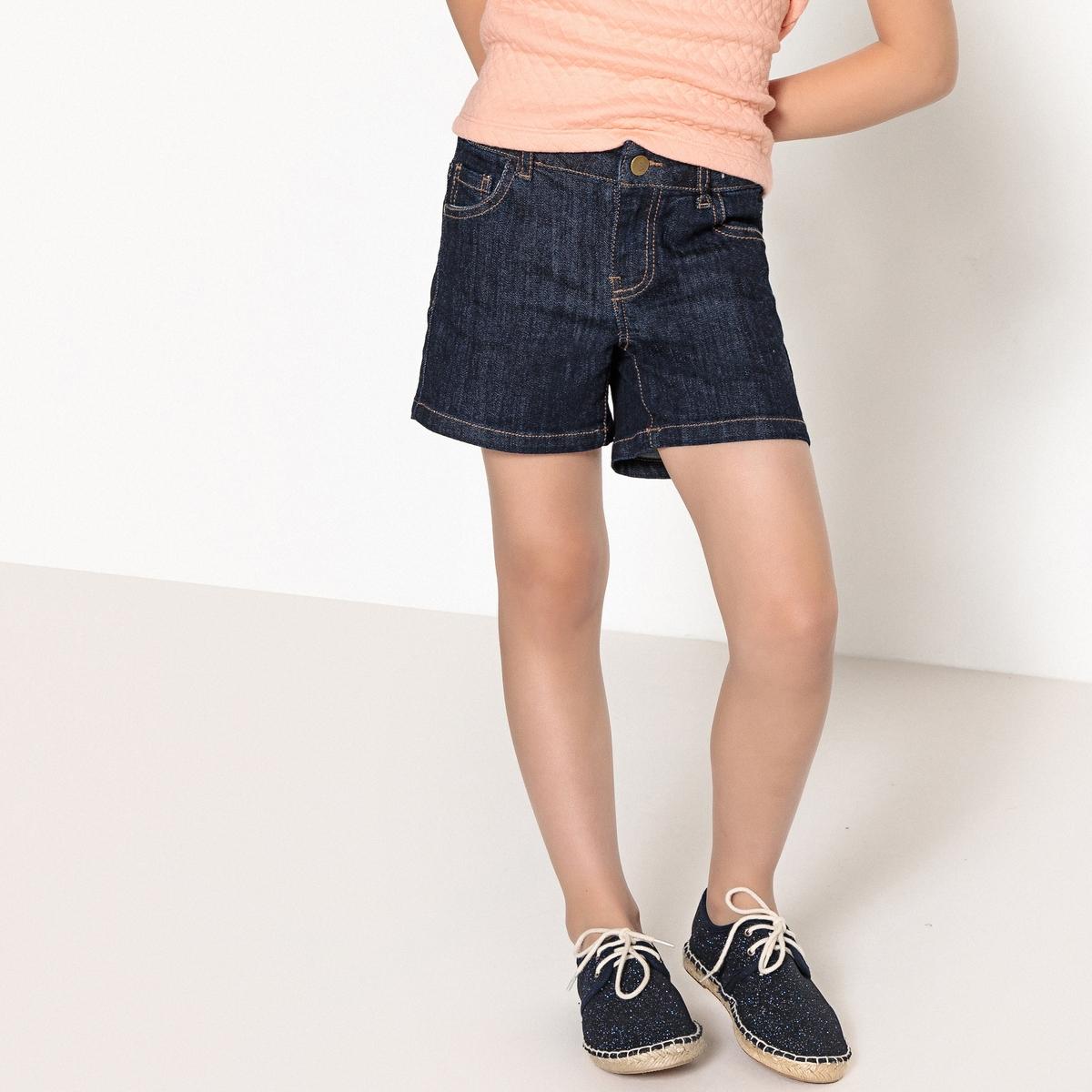 Шорты джинсовые с 5 карманами, 3-12 лет от La Redoute Collections