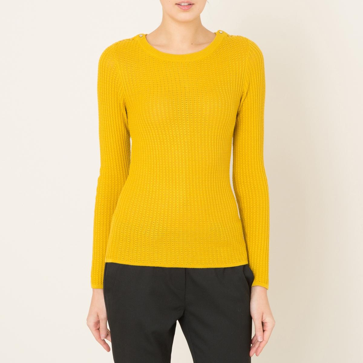 Пуловер с вырезом-лодочка FORAKER