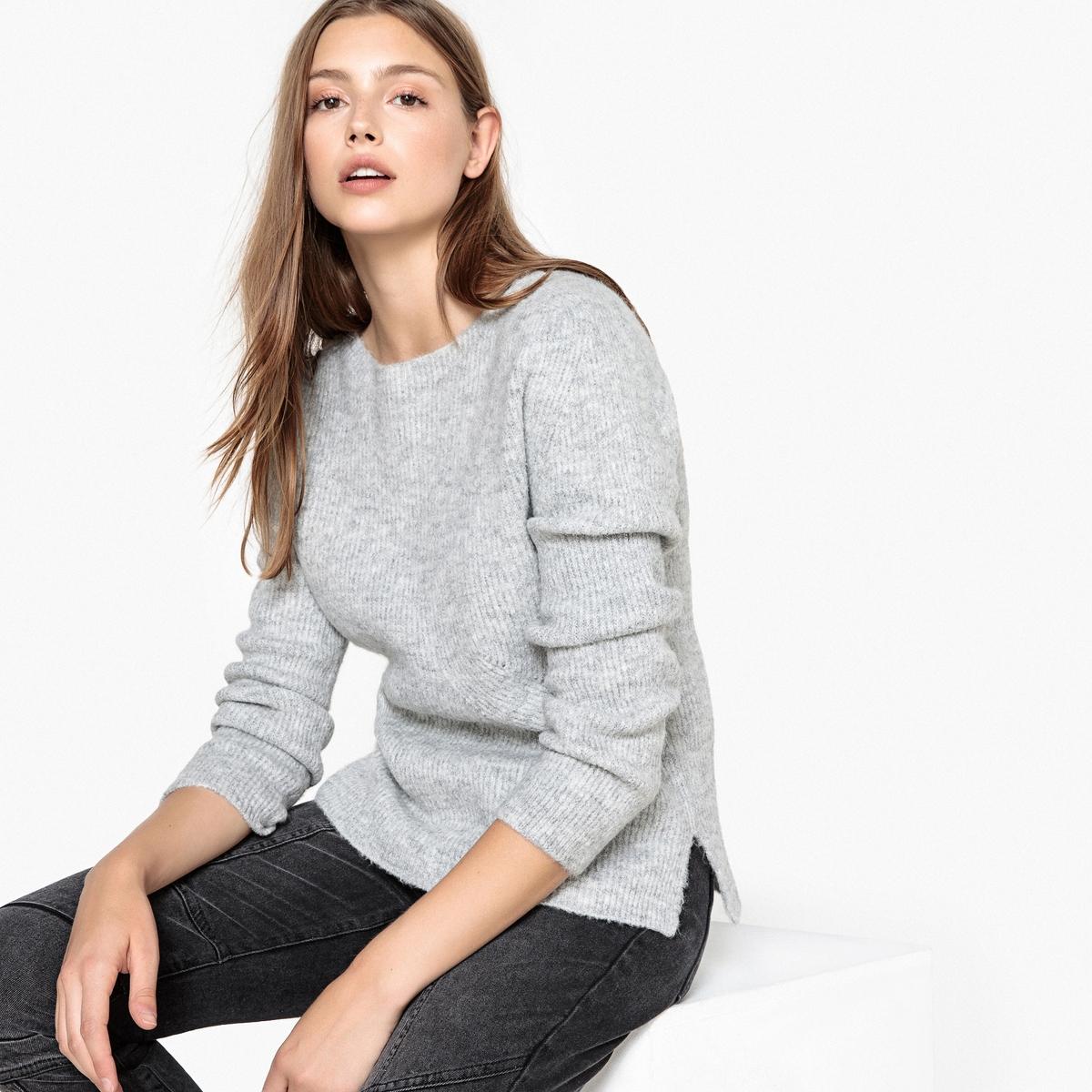 Пуловер с вырезом-лодочкой из плотного трикотажа MAKAYNE цены онлайн