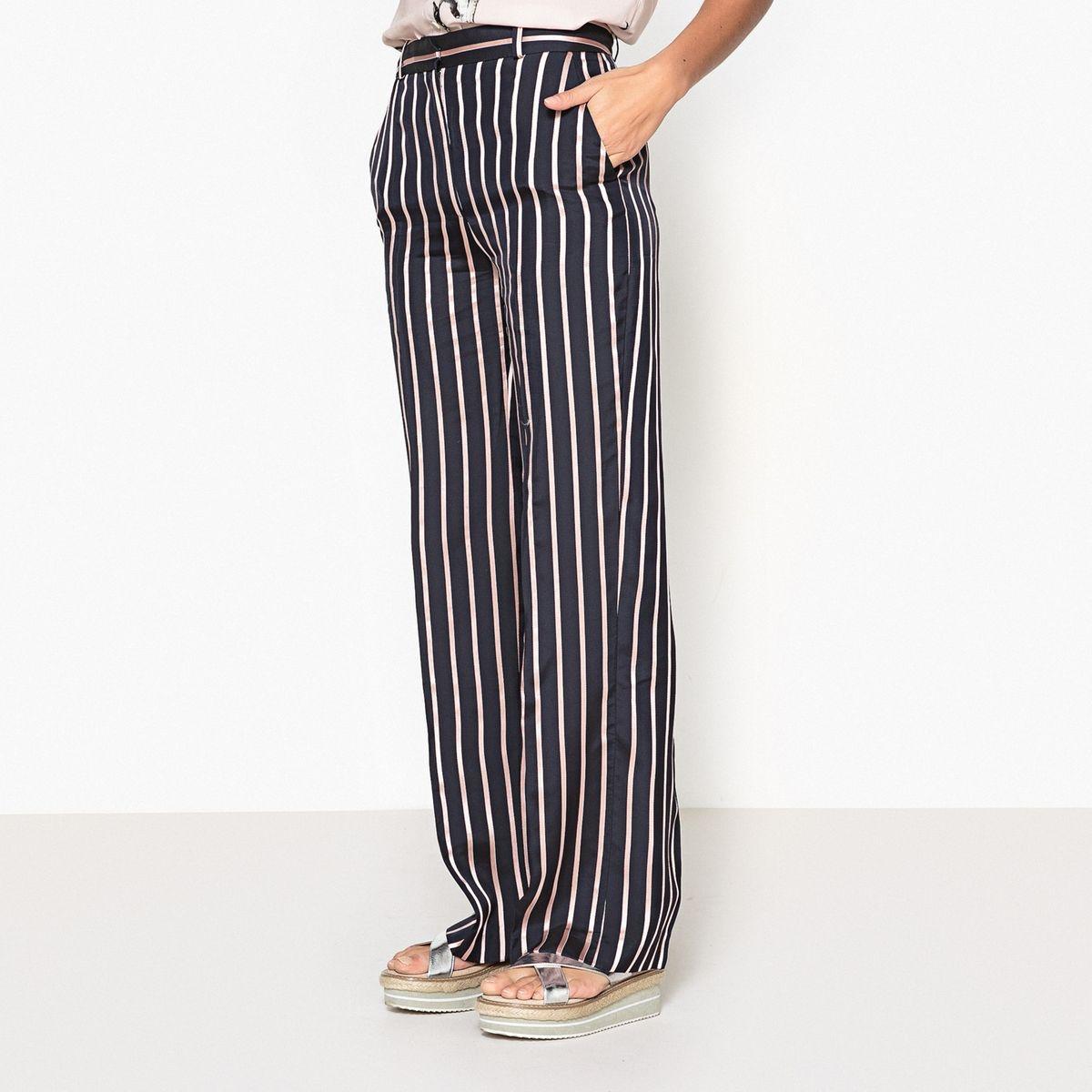 Pantalon large rayé PATOU
