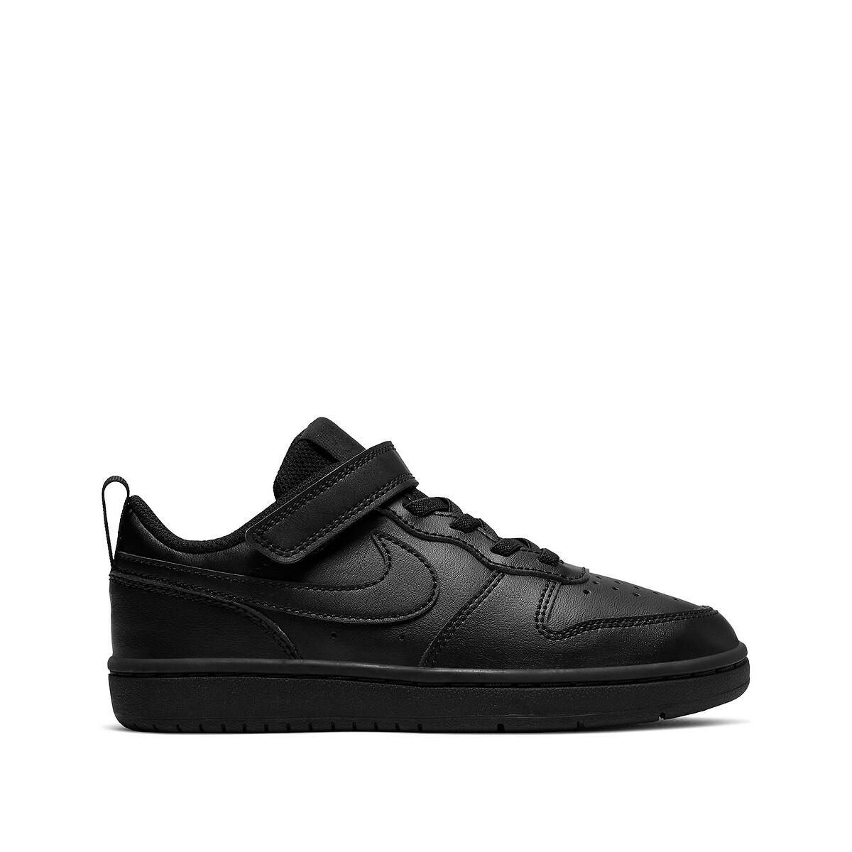 NIKE Court borough low sneakers zwart kinderen online kopen
