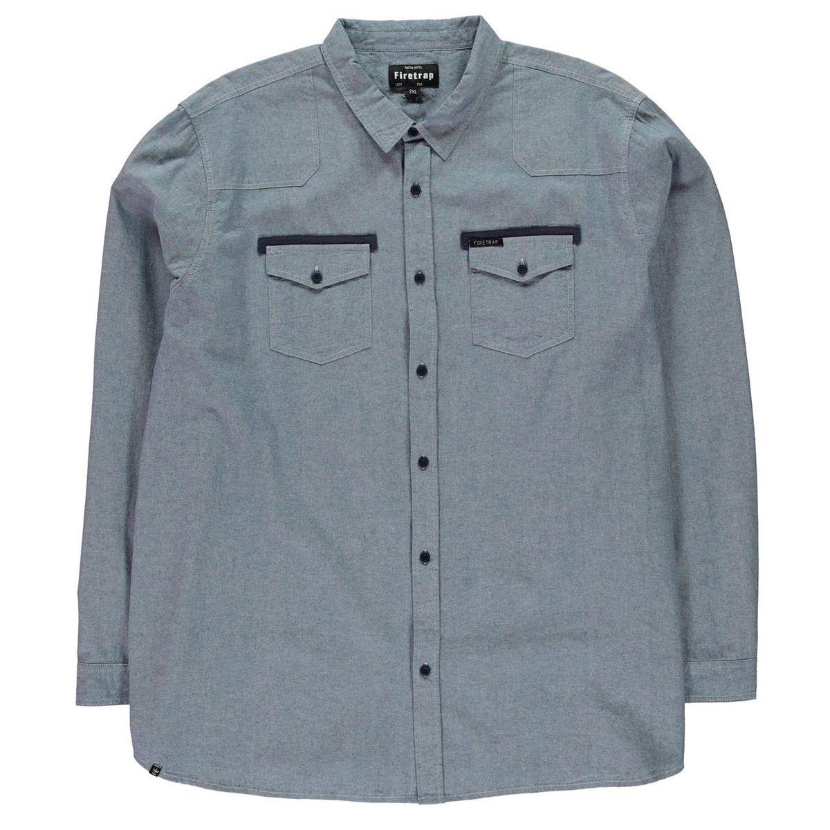 Chemise manche longue 2 poches