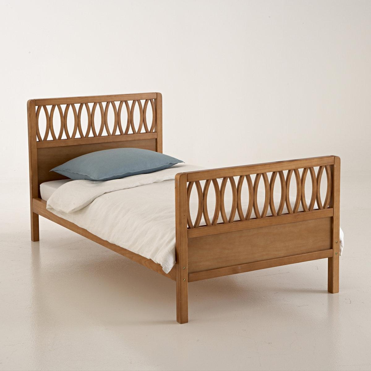 """Bett \""""Malu\"""" mit Lattenrost, Vintage-Style"""