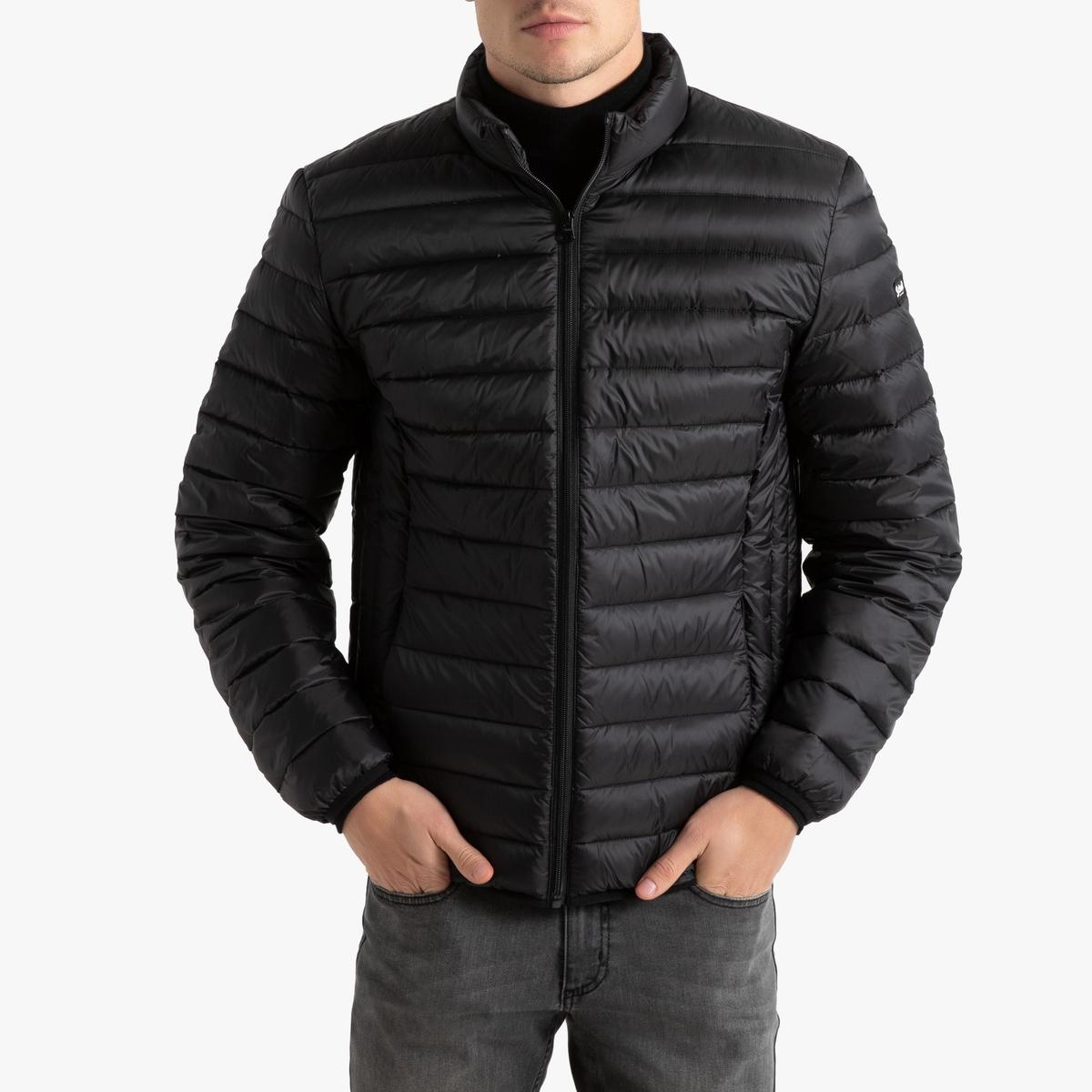 Куртка LaRedoute Стеганая тонкая без капюшона Oakland XXL черный