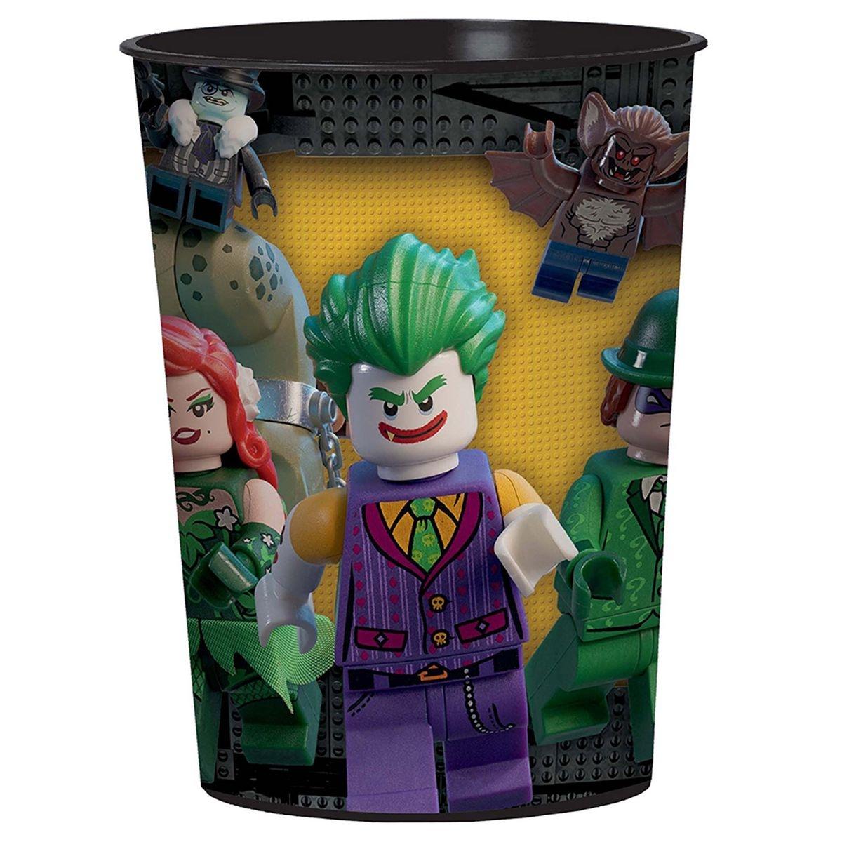 Gobelet plastique : Lego Batman 473 ml